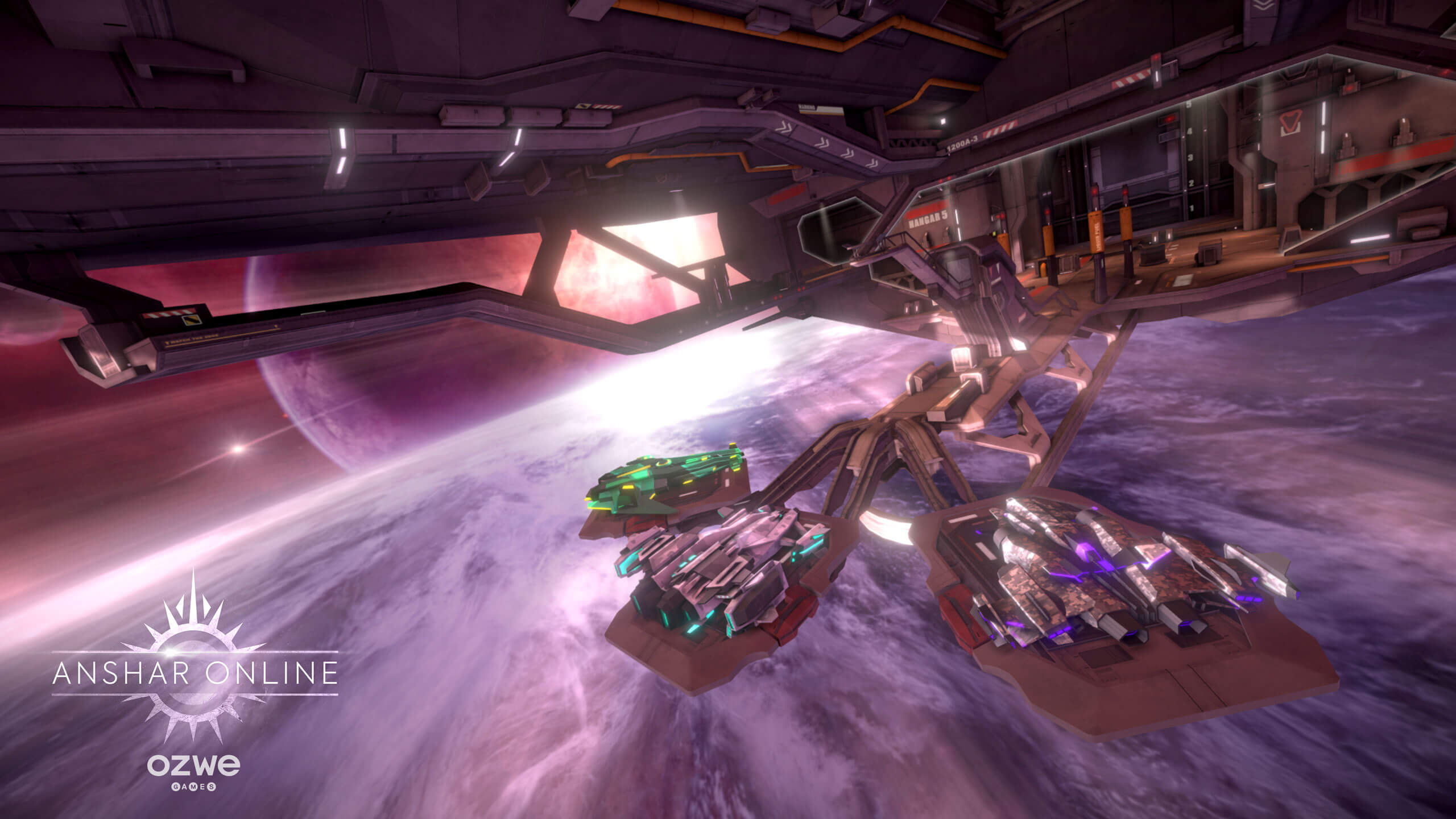 Anshar Online | VR Space Shooter - OZWE Games