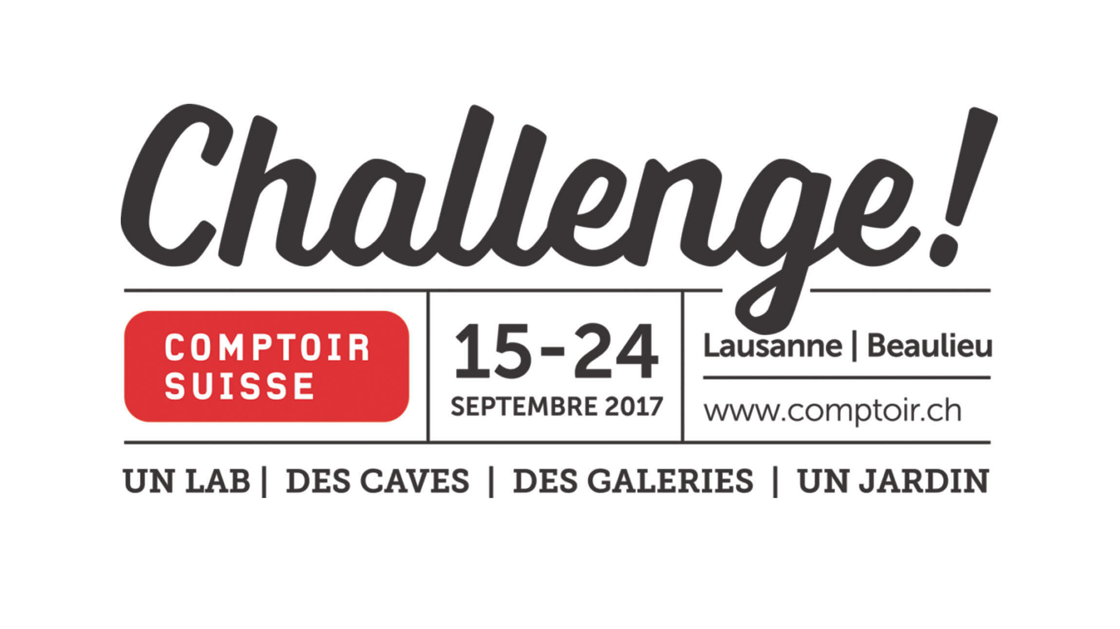 Challenge @ Comptoir Suisse 2017