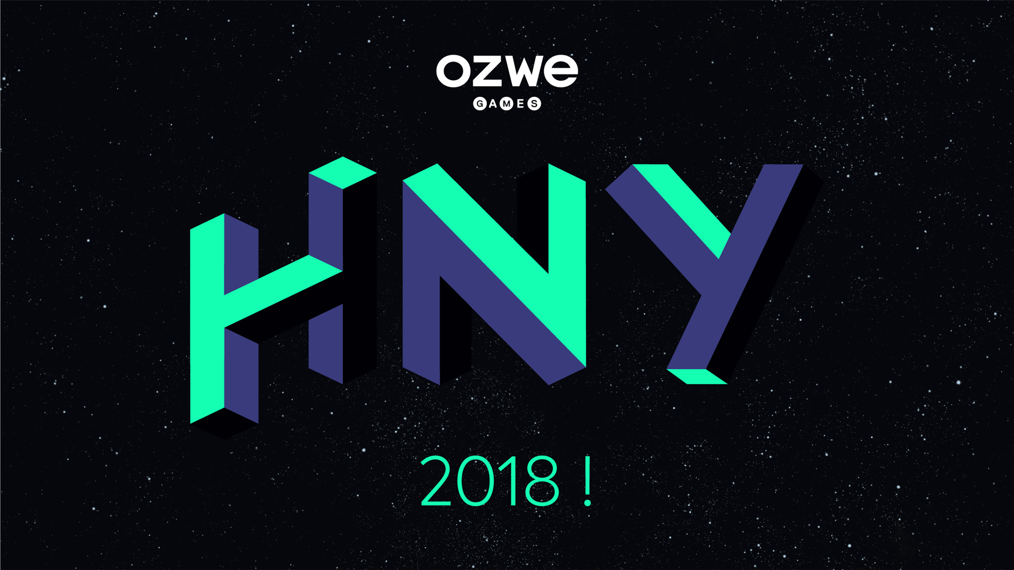 Happy New Year 2018 from OZWE!