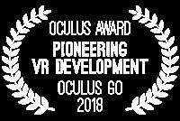 """Pioneering VR development"" by Oculus - Oculus Go 2018"