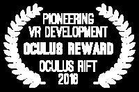 """Pioneering VR development"" by Oculus - Oculus Rift 2016"
