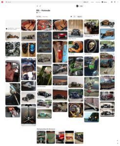 Pinterest Hotrod Moodboard