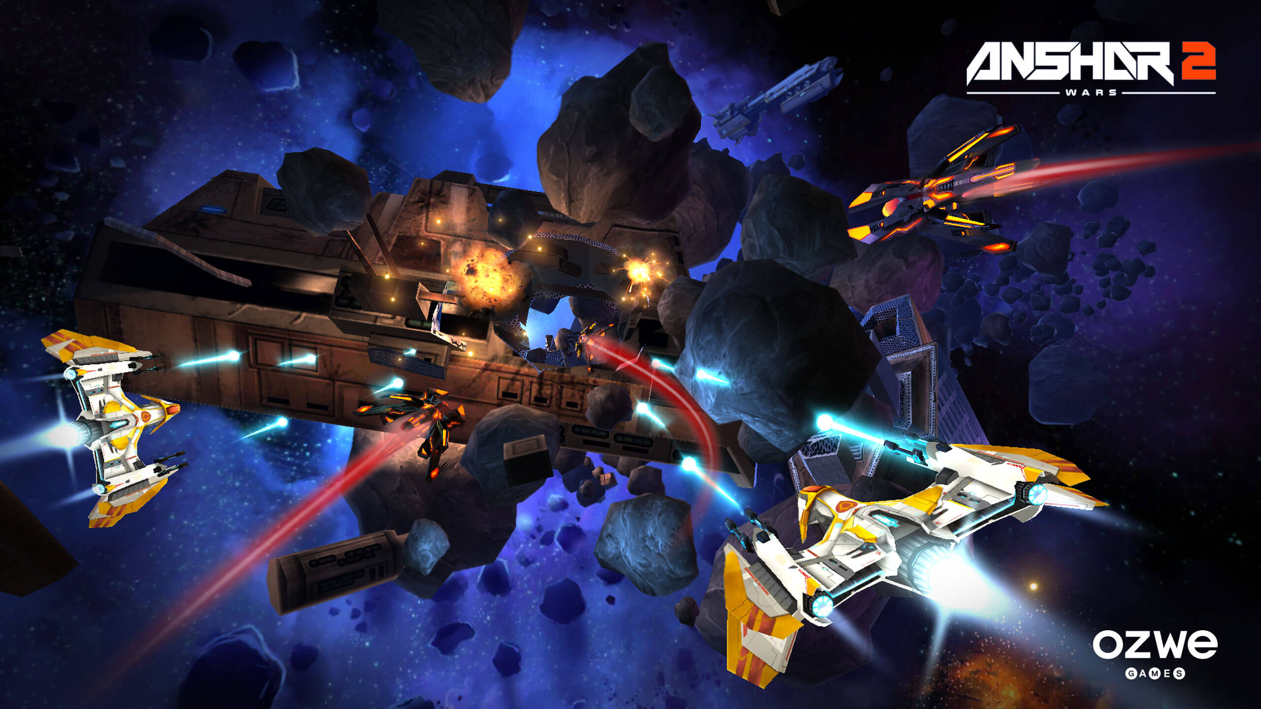 Anshar Wars 2 - Samsung Gear VR screenshot