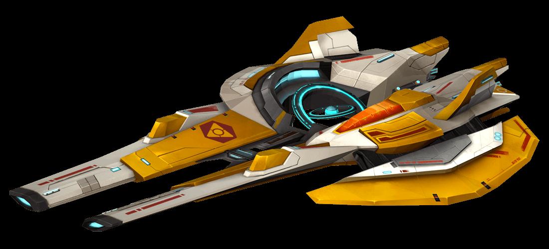 Anshar EMP Ship - Anshar Wars 2