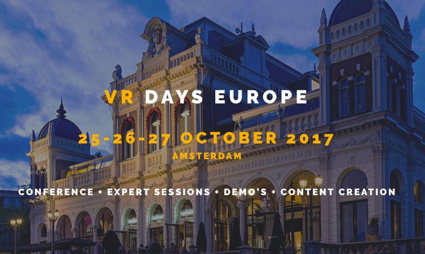 VR DAYS Europe 2018
